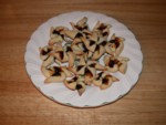 Finished Finnish Prune Tarts, close to how my dad's mom used to make, but I'll practice more next year...yum! :-9