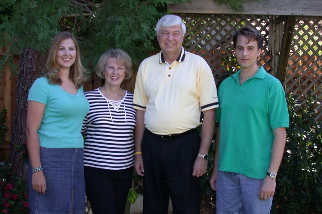 Peterson Family Photo August 2004