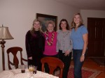 Grandma, friends & Britta, Nov 2004