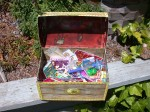 kids treasure chest for Year Six at Hogwarts