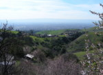 View of Santa Clara Valley from Alum Rock Rd - March 3rd
