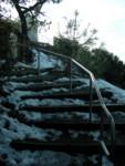 Snowy Stairway
