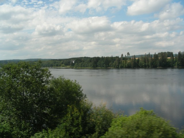 On the train from Oslo to Stockholm - still in Norway