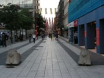 Drottniggatan shopping street in Stockholm
