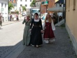Old Town Visby Gotland Sweden - obviously people dressed for the medieval festival :)