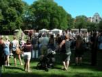 Medieval festival in Old Town Visby Gotland Sweden