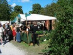 Where I bought my own small drinking horn at the medieval festival in Old Town Visby Gotland Sweden