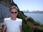 Andy on Alcatraz