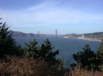 Golden Gate bridge from the other side...south down the peninsula...