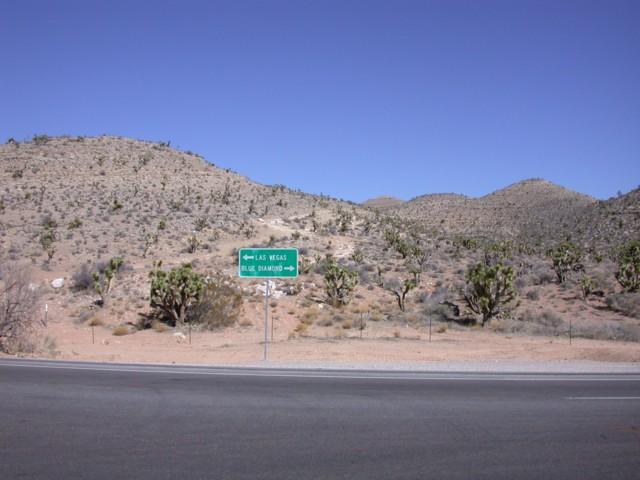 25 miles from Las Vegas