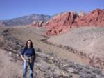 Amanda at Red Rock Canyon