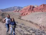 Britta & Amanda at Red Rock Canyon