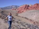 Britta at Red Rock Canyon