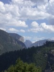 First view of Yosemite Valley from Hwy 120