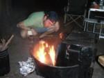 Ben stokes the campfire